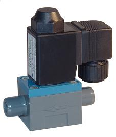 Isolated diaphragm solenoid valve for acid 01454 334990