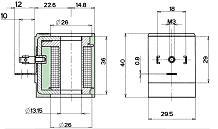 11630 T30 Italian coil dimensions
