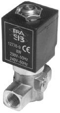 Gas Solenoid Valve - 1/8 & 1/4 BSP EN161 Gas Auto Reset Solenoid Valves from Stock