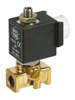 Series 300201 3/2 Brass solenoid valves 0 - 15 bar