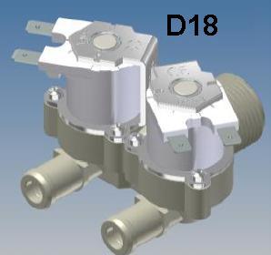 D180 RPE 12 volt Appliance Water Solenoid Valve