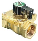 Series LAD Brass 2/2 Latching 3/8 to 2