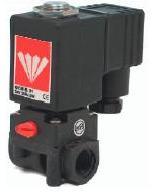 12 Volt Solenoid Valves - PPA1 Series Plastic 2/2 N/Closed 1/8 1/4 BSP 0-2.5 Bar 12vDC solenoid valves from Connexion Developments Ltd 0800 808 7799