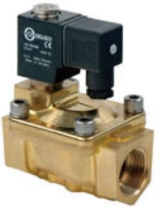 Series PU225H Brass 2/2 N/Closed 0.5 to 20 Bar Sizes 3/8