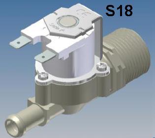 S180 RPE 12volt Appliance Water Solenoid Valve