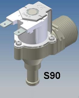 S90 RPE 12 volt Appliance Water Solenoid Valve