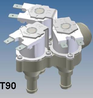 T90 RPE 12 volt Appliance Water Solenoid Valve