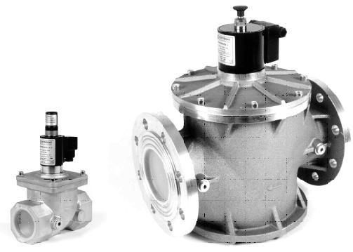 VMR Aluminium Series 2/2 Normally Closed 0 - 0.3 Bar EN161 Gas Board Approved Solenoid Valve