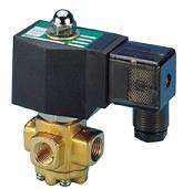 CS Fluid VX Brass 3/2 Solenoid Valves UK